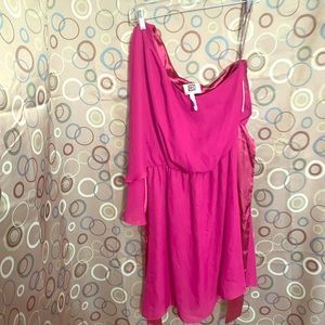 NWT Landry by Design Size 6 One Sleeve Dress